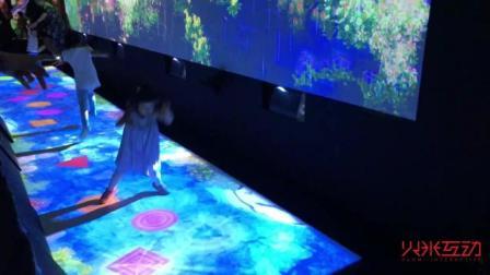 如何用低亮度的投影机做互动投影解决方案-火米互动