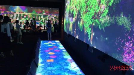 用投影技术模拟大自然的真实场景-火米互动