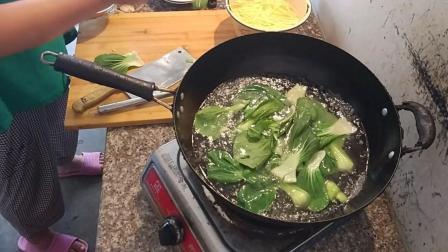 青菜的做法视频 浙江省绍兴市新昌县南明街道特色美食