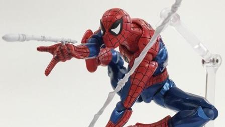 热破的模玩日记06 海洋堂山口式 蜘蛛侠 最接地气的超级英雄