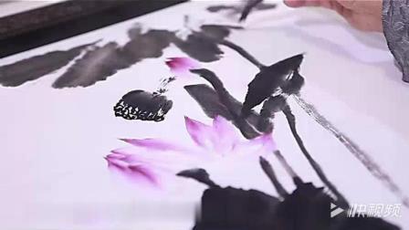 中国画艺术——怎样画国画荷花  03