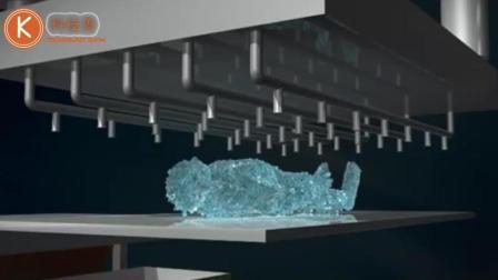 欧洲最新冰葬技术, 人体被-196℃液氮冰冻震碎, 最后变成粉末