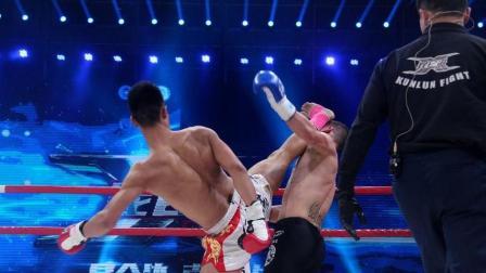 中国猛将杨建平最失控的一场, 玩命暴揍辱华日本人, 全场沸腾了!