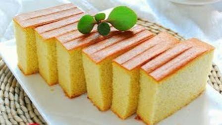 日本长崎蛋糕这样做, 好吃的不得了, 口感非常不错!