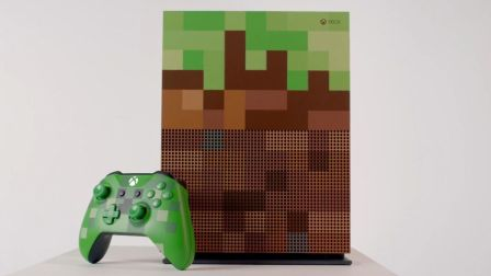 【中字】《我的世界》限定版Xbox One S宣传影像