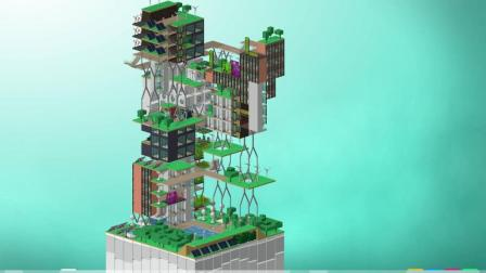[方块建造]Blockhood挑战模式通关21太空电梯歪奇直播