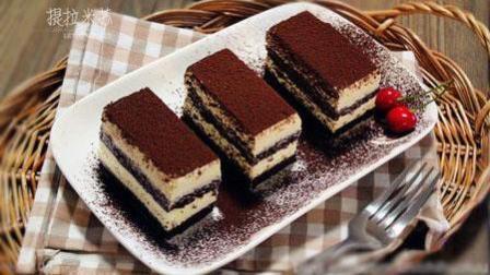 提拉米苏蛋糕最经典最简单的做法, 米其林大厨带你学做甜品美食