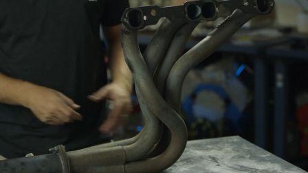 《引擎大师》第四期—敲扁排气芭蕉 测试由凹痕导致的动力损失