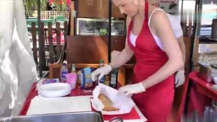伦敦街头小吃: 来自那不勒斯的油炸披萨 !