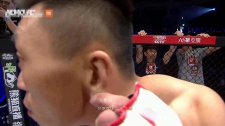 赛前对着镜头挖耳朵的韩国拳手 惨被最后一秒直接KO