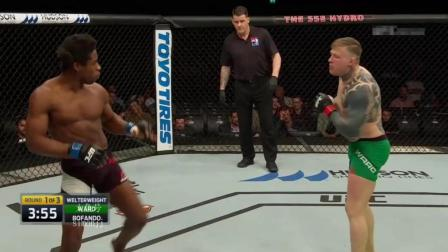 黑人拳手诡异的步伐 KO的方式更是奇葩 竟然把对手甩晕了