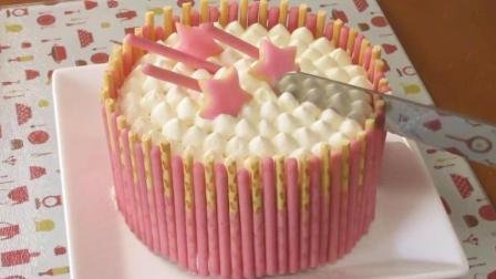 少女心爆棚的草莓百力滋蛋糕!