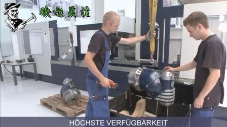 这样的德国大型数控五轴加工中心, 哥嫉妒又羡慕想买一台!