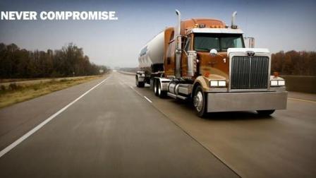 美国卡车司机年薪30万美元起, 工作轻松惬意, 坐拥高薪、美女……泥萌是不是羡慕坏了!