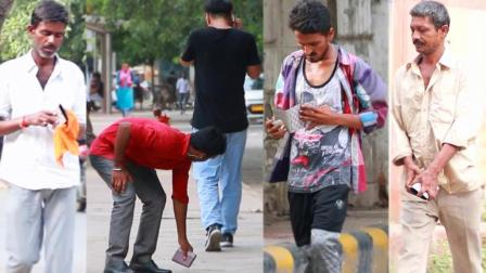 中国小伙印度掉钱包测试印度人素质 32