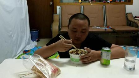 江西省南昌市安义县万埠镇特产美食炸酱面中国吃播视频
