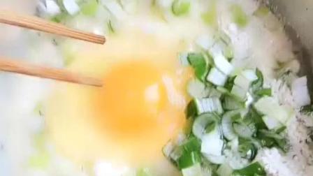 葱花鸡蛋饼教程, 这样做非常好吃
