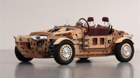 日本人用木头造车, 比钢硬5倍, 开太快会上天吗?