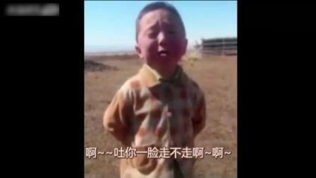 爆笑小孩唱歌, 这字幕, 这表情.我竟无言以对!
