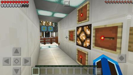 我的世界2号实验基地(上)数字图案开启能源控制室