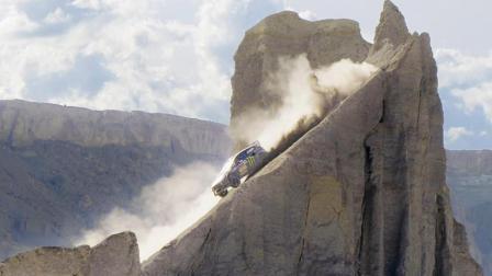 海拔1300米沙漠里的花式漂移——砖叔最新漂移大片