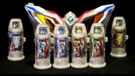 【铁骑转载】k2eizo DX 新时代奥特曼胶囊套装 捷德艾克斯银河维克特利欧布