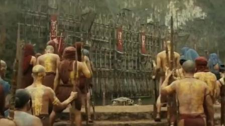 实拍非洲原始部落的水寨大门, 有强迫症的人看了也舒服!