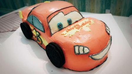 每个小男孩心里都有都有一个可爱的小汽车蛋糕, 来看看怎么做吧