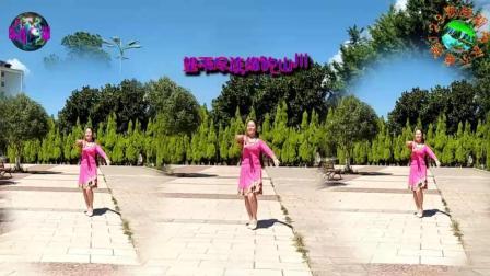 广场舞《蓝色的蒙古高原》视频制作: 永不疲倦1