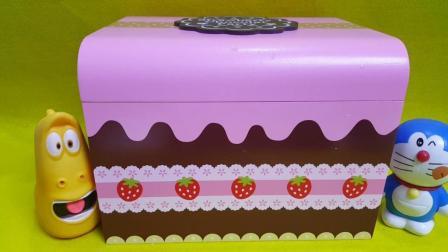 巧克力蛋糕神秘礼盒水果切切看爆笑虫子过家家