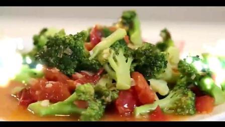 家常菜谱: 番茄炒西兰花的正确做法, 你学会了吗?