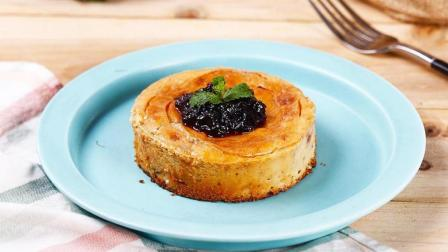 蛋糕店! 自己在家就能做的蓝莓焗芝士蛋糕