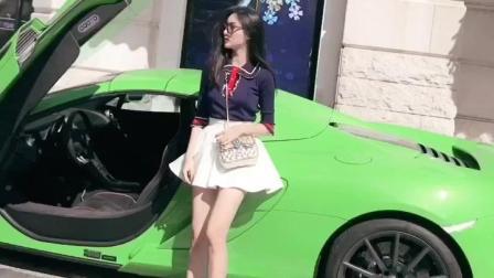 这个绿色的跑车好扎眼, 安全裤是最不友好的发明了