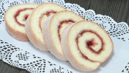 Vivi烘焙课堂(48) - 瑞士蛋糕卷