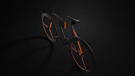 好看就够了 就像这辆又对称、又极简的自行车
