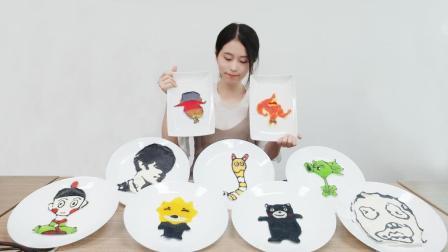飞镖盘摊煎饼 创意十足 每一个都是艺术品 35