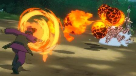 《火影忍者:究极忍者风暴3完全爆发HD版》【四年后的加料炒饭】(对比老版模型画面展示)新人上手序章 九尾袭来