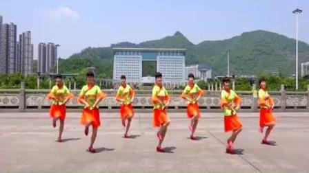 吉美广场舞《浪拉山情》藏族舞_