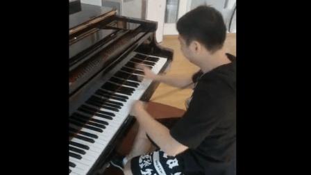 月光奏鸣曲(暴风骤雨来临时)贝多芬-果汁老师钢琴现场弹奏