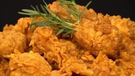 美食的诱惑 制作超美味的劲脆炸鸡和多料披萨!