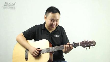 (25)战狼2主题曲  吴京《风去云不回》吉他教学