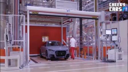 奥迪TT轿车生产和组装生产线