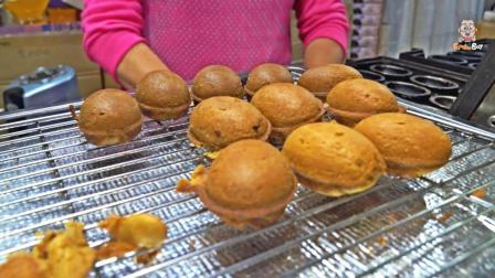 咖啡豆面包 旅行的时候尝过么 韩国济州岛街头美食