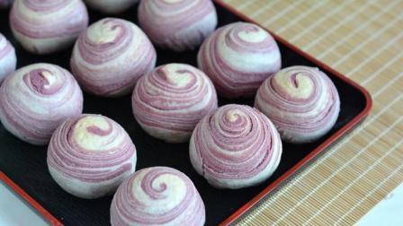 《巧酥》。外皮酥层入口即化, 紫薯内馅香甜有嚼劲, 不止是好看那么简单