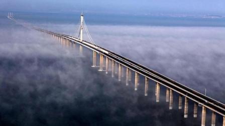 """中国最牛跨海大桥: 耗资近100亿, 被美国评为""""全球最棒桥梁"""""""