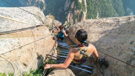 世界上最恐怖的阶梯4个, 其中还有一个在中国, 你敢去吗?