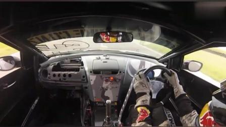 职业拉力赛车手第一视角操作, 好担心他把方向盘掰掉了, 老司机换挡太快