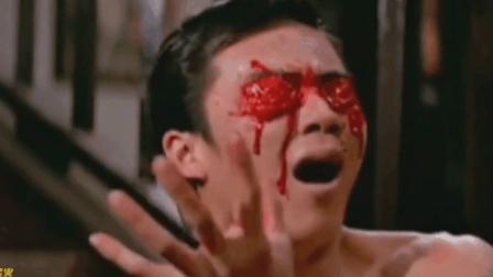 狄龙双目被刺 肠流于外——盘点电影中的盘肠大战#大鱼FUN制造#