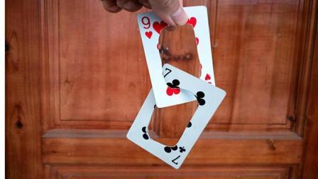 两张没有缺口的牌框为什么能串联在一起? 这个方法你想到了吗?