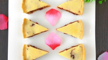 玫瑰花酿乳酪派的制作方法